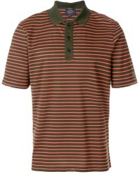 Paul & Shark | Striped Polo Shirt | Lyst
