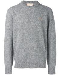 Sweatshirt Knitted Kitsuné Maison Kitsuné Lyst Maison SqIETEwt