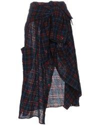 Faith Connexion - High Waisted Shirt Midi Skirt - Lyst