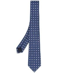 Gucci - Floral Embroidered Tie - Lyst