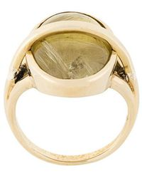 Pamela Love - Stratum Rutilated Quartz Ring - Lyst