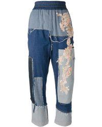 Antonio Marras - Patch-work Jeans - Lyst