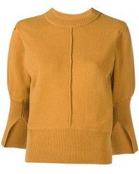 Dagmar - Eniko Slit Sleeve Sweater - Lyst