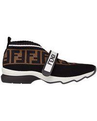 Fendi - 'Rockoko' Sneakers - Lyst