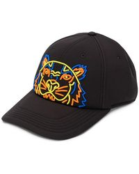 KENZO - Gorra de béisbol con estampado de tigre - Lyst