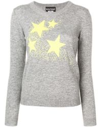 Boutique Moschino - Stars Knit Sweater - Lyst