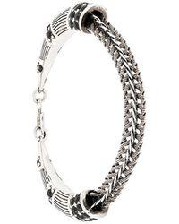 Roberto Cavalli - Embellished Snake Bracelet - Lyst