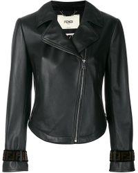 Fendi - Off-center Zipped Jacket - Lyst