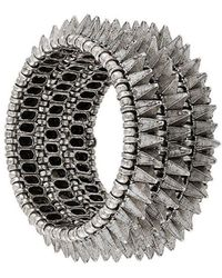 Philippe Audibert - Elasticated Spike Bracelet - Lyst