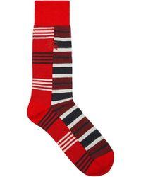 Burberry - Striped Socks - Lyst