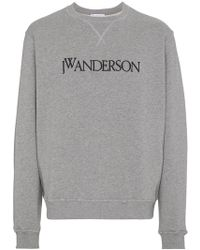 J.W.Anderson - Logo Front Sweater - Lyst