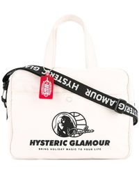 Hysteric Glamour - Logo Patch Tote - Lyst