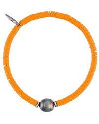 M. Cohen - Sibyl Pearl & Disk-bead Bracelet - Lyst