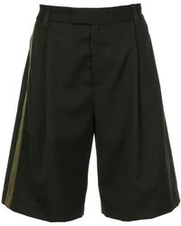 Public School - Oversized Single Stripe Shorts - Lyst