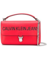 Calvin Klein - Sculpted Flap Shoulder Bag - Lyst