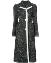 Derek Lam - Felted Edges Coat - Lyst