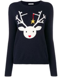 Chinti & Parker - Deer Knitted Jumper - Lyst