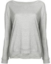 Majestic Filatures - Long Sleeve Sweatshirt - Lyst