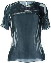 Maison Margiela - Oversized Bow T-shirt - Lyst