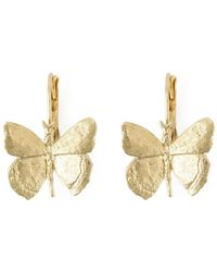 Wouters & Hendrix - Butterfly Drop Earrings - Lyst