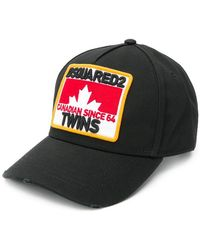 DSquared² - Canadian Twins Baseball Cap - Lyst