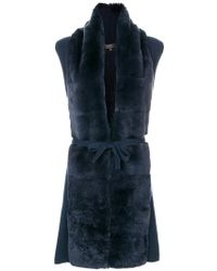 N.Peal Cashmere - Milano Long Gilet - Lyst
