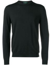 Zanone - Textured Sweater - Lyst