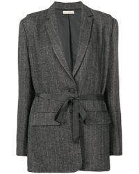 Ulla Johnson - Fitted Belted Blazer - Lyst