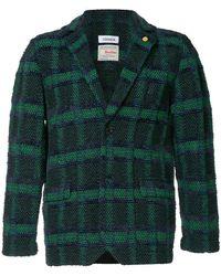 Coohem - Checked Tweed Blazer - Lyst