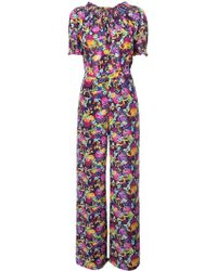 Saloni Julia Printed Jumpsuit