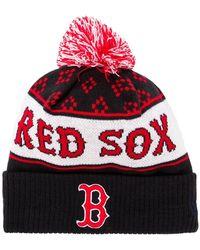 Marcelo Burlon - X Mlb Red Sox Pompom Beanie - Lyst