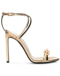 Tom Ford - Knot-detail Sandals - Lyst