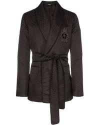 Dolce & Gabbana - Logo-embroidered Silk Jacquard Jacket - Lyst