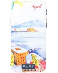 Fefe - Napoli Iphone X Cover - Lyst
