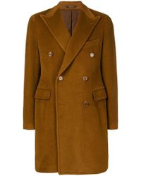 Tagliatore - Double-breasted Coat - Lyst