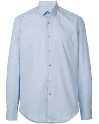 Lanvin - Hemd mit schmalem Kragen - Lyst