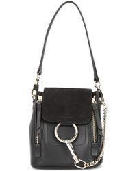 Chloé | Faye Leather Backpack | Lyst