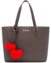 Love Moschino - Hearts Embellished Tote Bag - Lyst