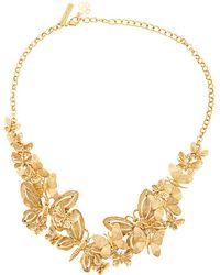 Oscar de la Renta - Butterfly Necklace - Lyst