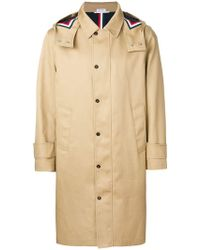 "Thom Browne - Detachable Hood Snap Front Parka (38"") In Mackintosh - Lyst"