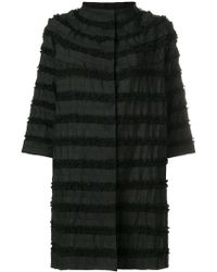 Clips - Ruffle Tiered Coat - Lyst