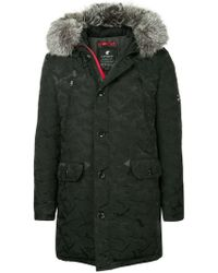Loveless - Padded Hooded Coat - Lyst