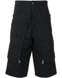 Stone Island - Long Pocket Shorts - Lyst