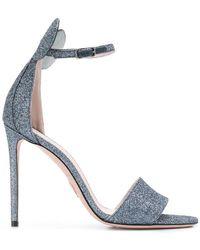 Oscar Tiye - Minnie Glitter Sandals - Lyst