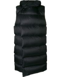 Rick Owens Sleeveless Puffer Coat