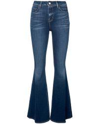 L'Agence - Jeans svasati - Lyst