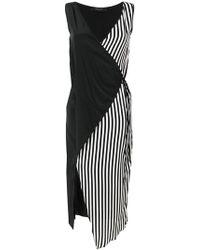 FEDERICA TOSI - Asymmetric Wrap Dress - Lyst