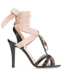 RED Valentino | Beetle Embellished Sandals | Lyst