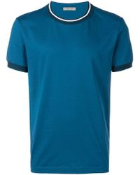 Bottega Veneta - Contrast Neck T-shirt - Lyst
