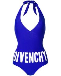Givenchy | Logo One-piece Swimsuit | Lyst